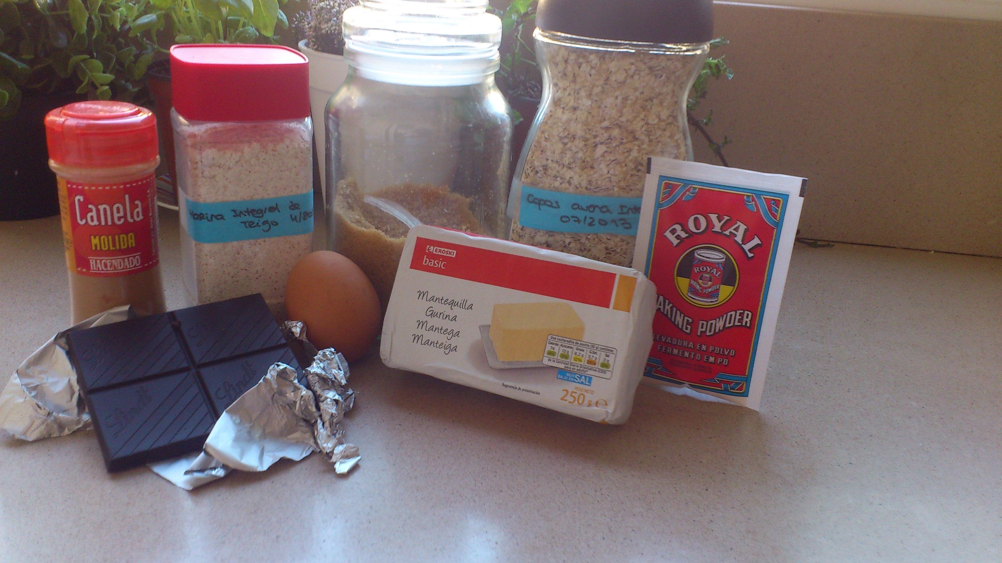 Receta galletas integrales de avena y harina integral - Cocinar harina de avena ...