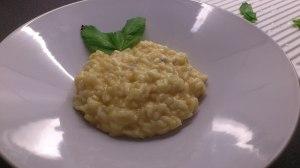 Risotto de gorgonzola, calabaza y parmesano :-)