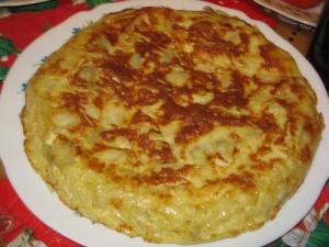 Tortilla de patatas casera