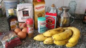 Ingredientes bizcocho casero de platano