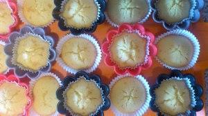 Base del cupcake lista :-)