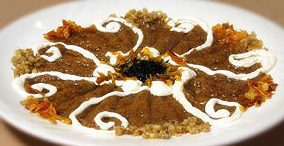 aperitivo irani berenjenas