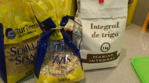 Ingredientes crepes de avena
