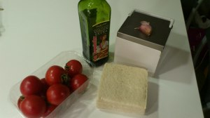 Ingredientes Salmorejo