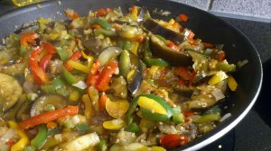 Añade el sésamo y la soja y deja cocer durante 1-2 minutos más :)