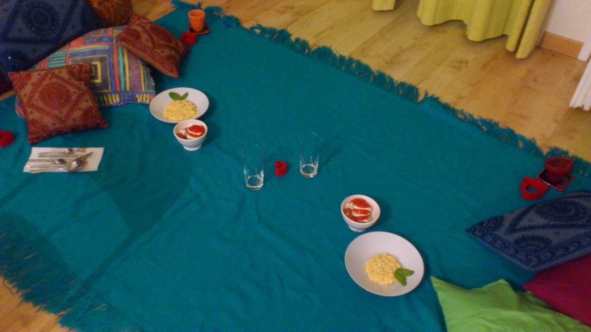 Ideas para una cena rom ntica en pareja las recetas de merxi - Cena ligera romantica ...