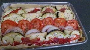 Condimentado con aceite de oliva, sal, pimienta y tomillo :-)