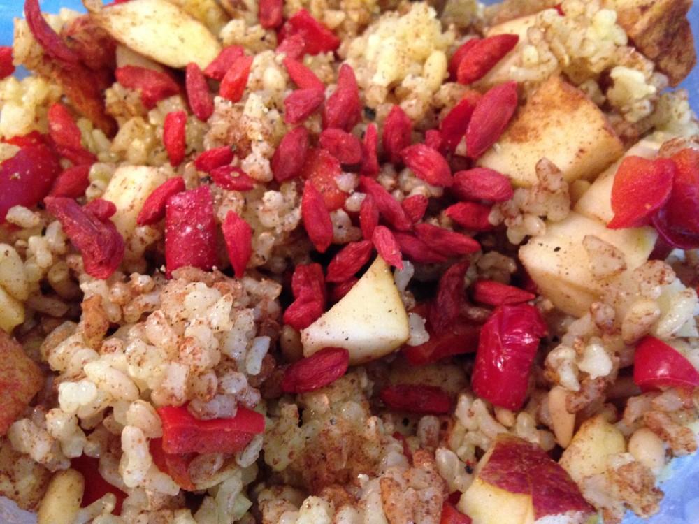 receta arroz exótico