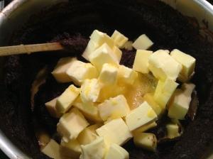 receta tarta chocolate negro