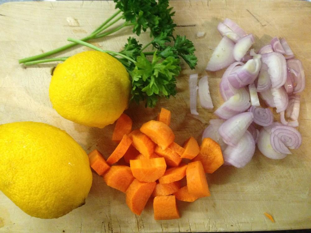 receta sopa de zanahoria, quinoa y especies